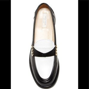 Cole Haan Mazie Two-Tone Loafers